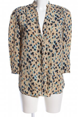 Mango Suit Hemd-Bluse abstraktes Muster Casual-Look