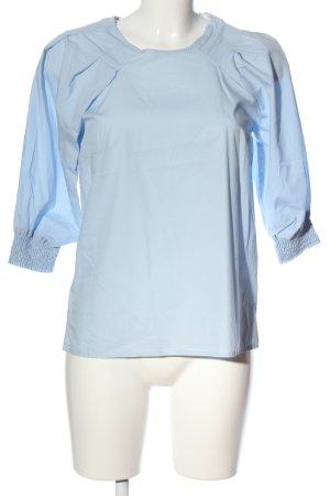 Mango Suit Hemd-Bluse blau Business-Look