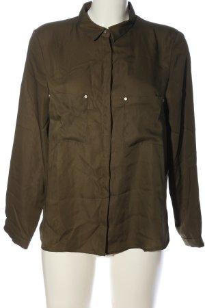 Mango Suit Hemd-Bluse khaki Casual-Look