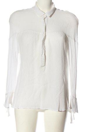 Mango Suit Hemd-Bluse weiß Business-Look