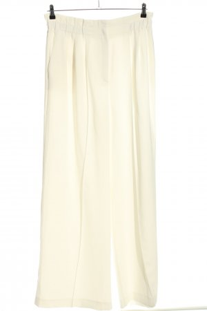 Mango Suit High-Waist Hose creme Casual-Look