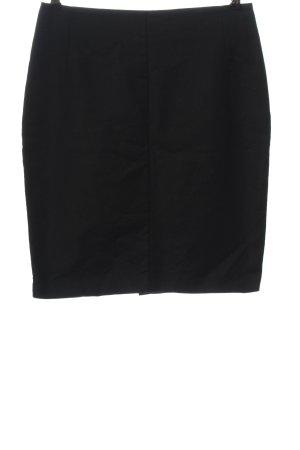 Mango Suit High Waist Rock schwarz Casual-Look