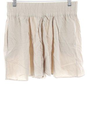 Mango Suit High-Waist-Shorts beige Casual-Look