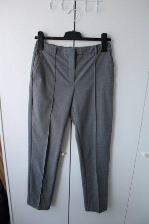 Mango Woolen Trousers grey wool