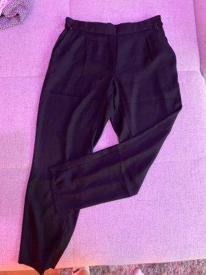 Mango Suit Hose Anzughose schwarz S 36 locker