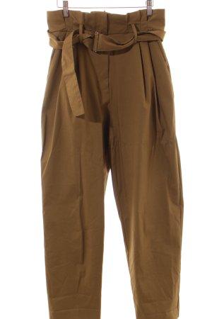 Mango Suit Hose khaki Metallelemente