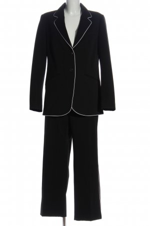 Mango Suit Tailleur-pantalon noir style d'affaires