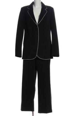 Mango Suit Hosenanzug schwarz Business-Look