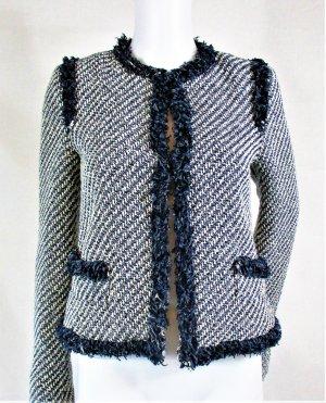 Mango Suit Jacke/Blazer/Baumwolle-Polyester/Blau/Gr. 34/wie NEU!