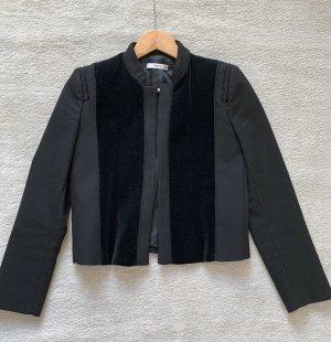 Mango Suit Jäckchen Samt Gr: S