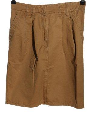 Mango Suit Jeansrock braun Casual-Look