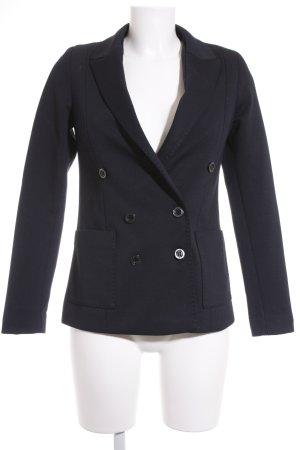 Mango Suit Jerseyblazer dunkelblau Business-Look
