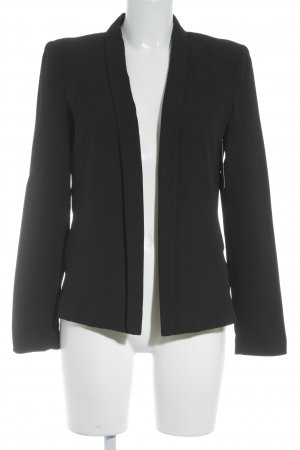 Mango Suit Jerseyblazer schwarz Business-Look