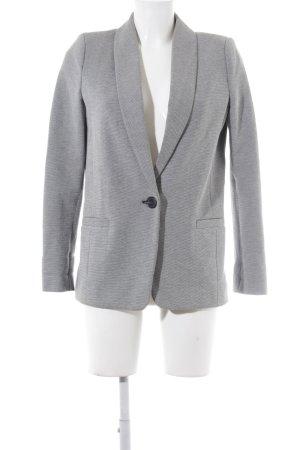 Mango Suit Jerseyblazer weiß-schwarz Casual-Look