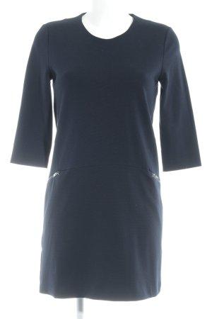 Mango Suit Jerseykleid dunkelblau Business-Look