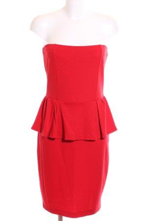 Mango Suit Jerseykleid rot Casual-Look