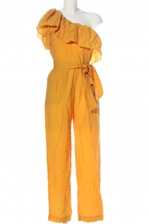 Mango Suit Jumpsuit blassgelb Casual-Look
