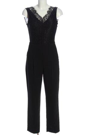 Mango Suit Jumpsuit schwarz Casual-Look