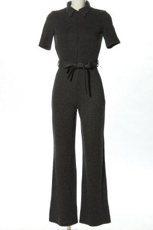 Mango Suit Jumpsuit black mixture fibre