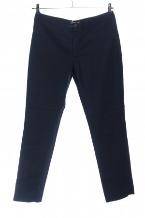 Mango Suit Karottenhose blau Business-Look