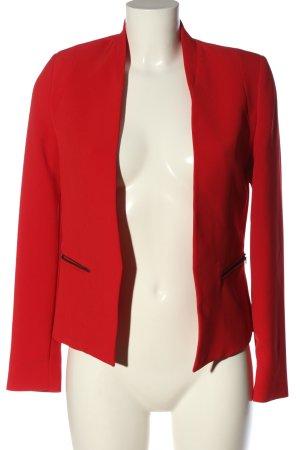 Mango Suit Klassischer Blazer rot Business-Look