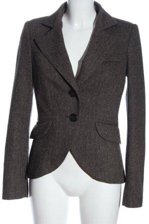 Mango Suit Klassischer Blazer hellgrau Business-Look