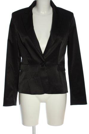 Mango Suit Klassischer Blazer schwarz Business-Look