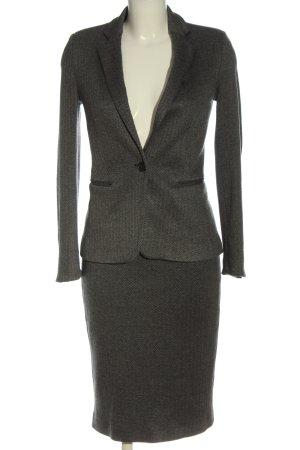 Mango Suit Ladies' Suit light grey flecked business style