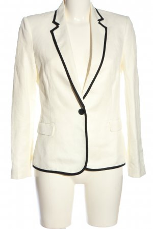 Mango Suit Kurz-Blazer wollweiß Business-Look