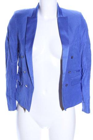Mango Suit Kurz-Blazer blau Business-Look