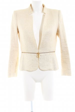 Mango Suit Kurz-Blazer creme Elegant