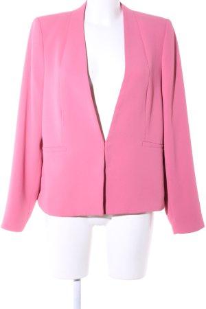 Mango Suit Kurz-Blazer pink Casual-Look