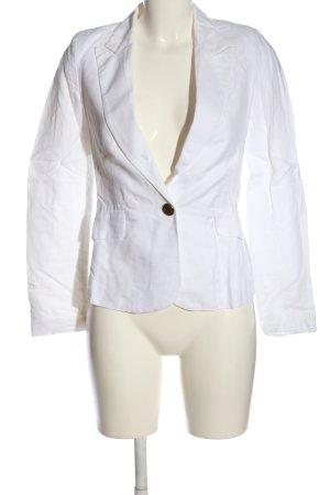 Mango Suit Kurz-Blazer weiß Business-Look