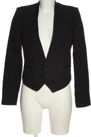 Mango Suit Kurz-Blazer schwarz Business-Look