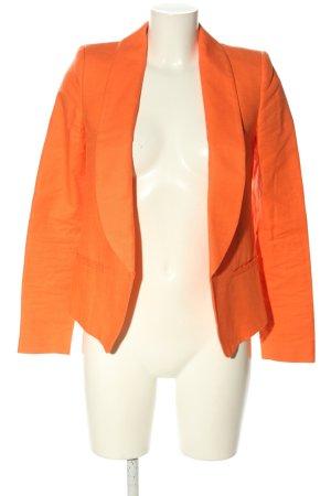 Mango Suit Kurz-Blazer hellorange Casual-Look