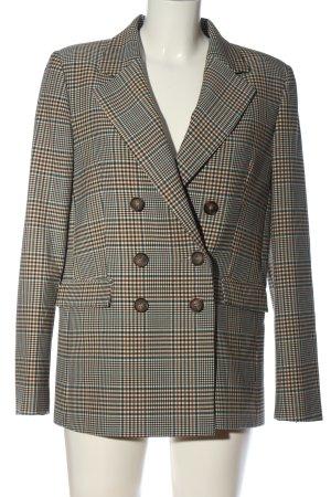 Mango Suit Kurz-Blazer Karomuster Business-Look