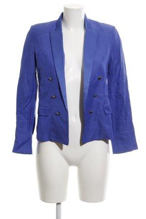 Mango Suit Kurz-Blazer blau-stahlblau Elegant