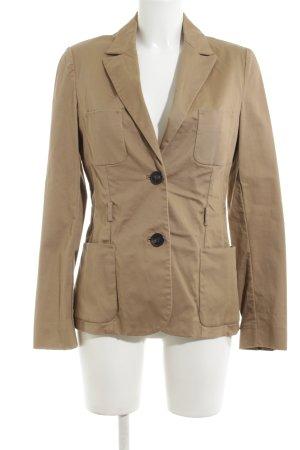 Mango Suit Kurz-Blazer braun Business-Look