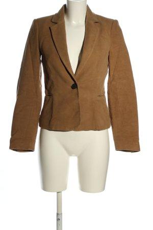 Mango Suit Kurz-Blazer bronzefarben Business-Look