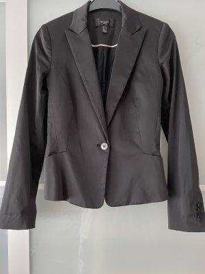 Mango Korte blazer zwart Polyester
