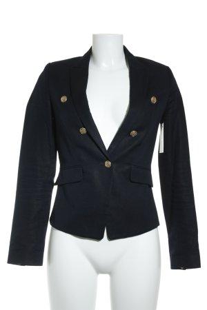 Mango Suit Kurz-Blazer dunkelblau Casual-Look