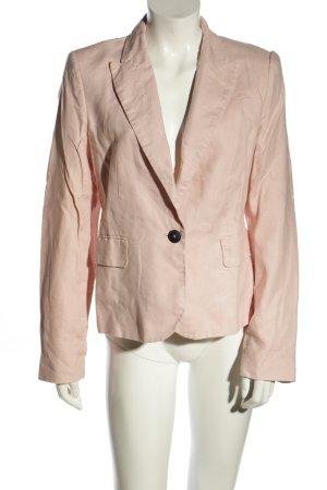 Mango Suit Kurz-Blazer pink Business-Look