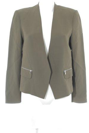 Mango Suit Kurz-Blazer khaki Business-Look