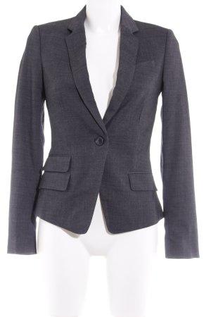 Mango Suit Kurz-Blazer schwarz meliert Business-Look