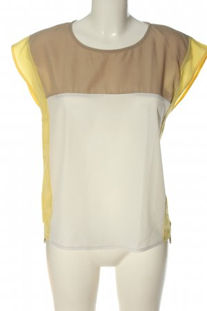 Mango Suit Kurzarm-Bluse mehrfarbig Casual-Look