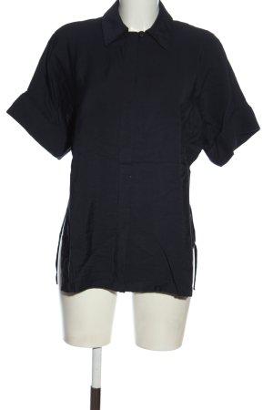 Mango Suit Short Sleeve Shirt blue casual look