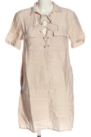 Mango Suit Kurzarmkleid creme Casual-Look