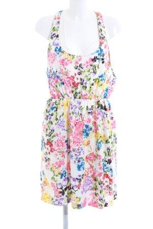 Mango Suit Kurzarmkleid Blumenmuster Casual-Look