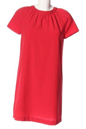 Mango Suit Kurzarmkleid rot Casual-Look