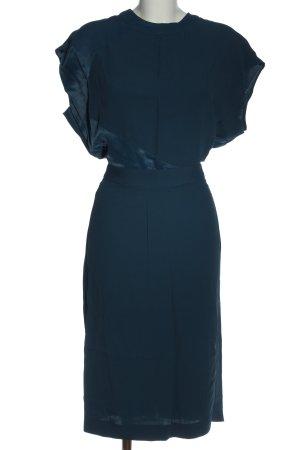 Mango Suit Kurzarmkleid blau Elegant